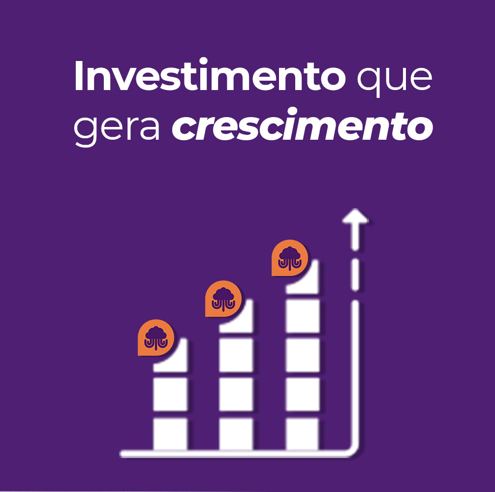 Investimento que gera crescimento
